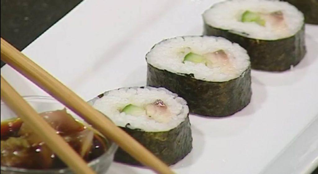 Cured Mackerel Sushi