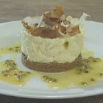 Pineapple and Coconut Cheesecake