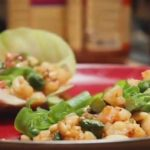 Prawn & Pine Nut Lettuce Wraps