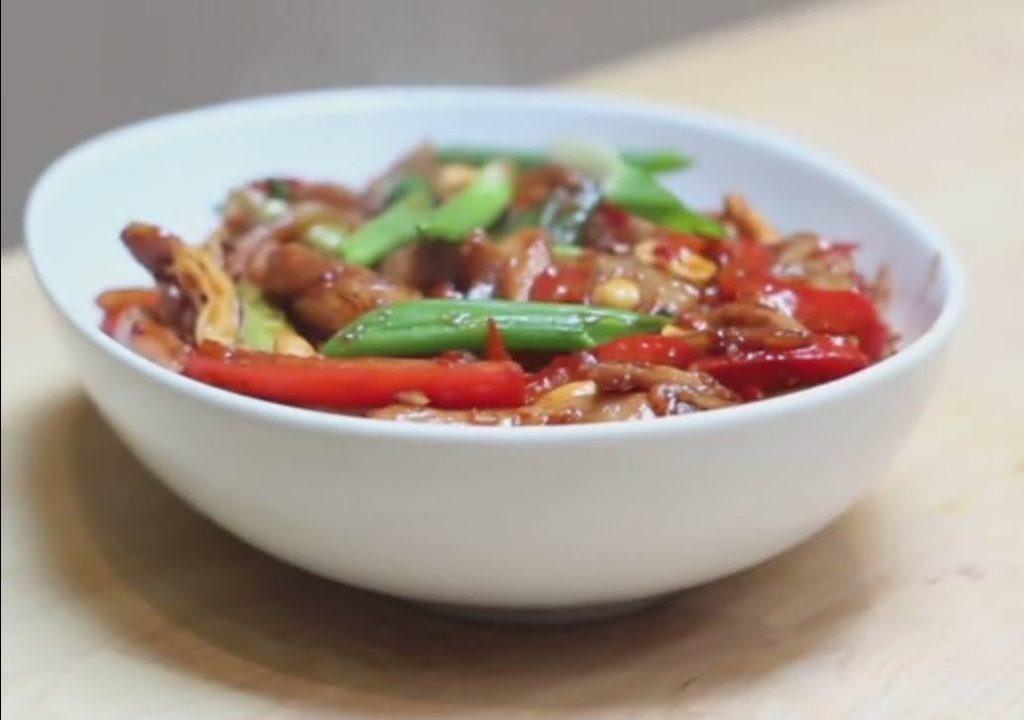 Stir Fried Sichuan Chicken